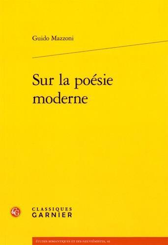Sur la poésie moderne