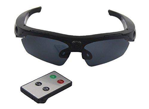 JOYCAM Sonnenbrille Kamera Polarisierte UV400 Brille DVR Camcorder Fernbedienung HD 720P Videoaufnahme für Outdoor Sportarten