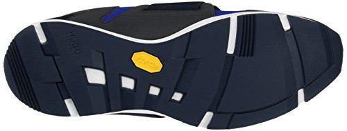 HUGO Herren Hybrid_Runn_neoel Slip On Sneaker Blau (Medium Blue)