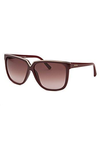 Valentino Sonnenbrille V605S 58 (58 mm) bordeaux/goldfarben
