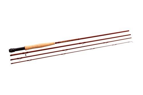 6' Rod Set (Snowbee Classic 6/74-teilig Fliegenrute, Unisex, Classic 6/7, Hazel Braun)