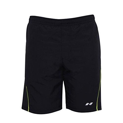 Nivia Neo 2036XL2 Polyester Dobby Shorts, X-Large (Navy Blue)