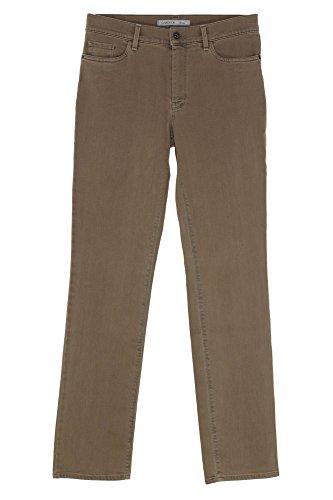 GARDEUR Jeans Inga Damen Stretch Slim Fit Camel