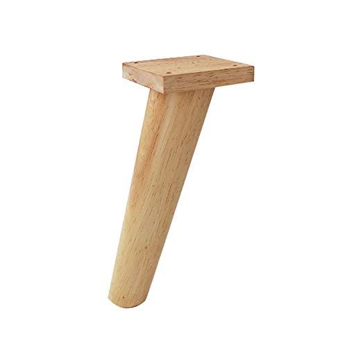 Solid wood legs MassivholzmöBel Beine - SchlafzubehöR Fuß Couchtisch Fuß Tv-Schrank Fuß Kabinett FüßE MöBel DIY Replacement Massivholz Beine
