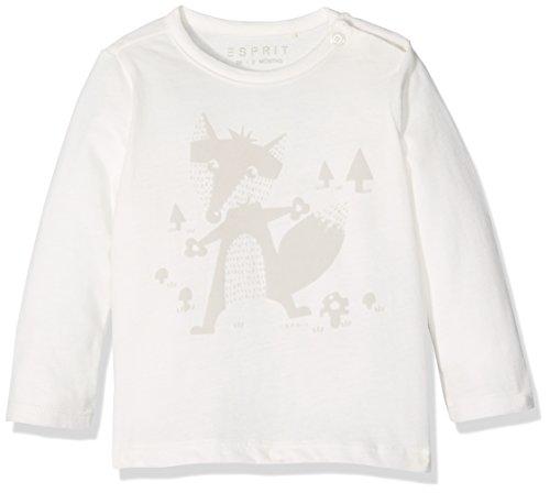 Esprit Kids Unisex Baby T-Shirt, Weiß (Off White 110), One size (Herstellergröße: 68)