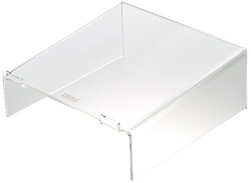 Desq 1508 Brief und Ablagekörbe, Laptopständer von hoher Qualität und elegant. 12 cm, 6 mm, transparent