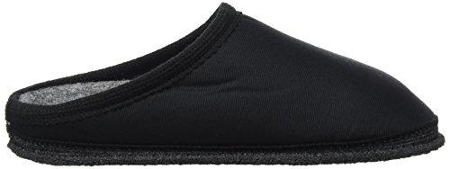 Kitz - Pichler Biosoft, chaussons d'intérieur mixte adulte Schwarz (schwarz Uni)