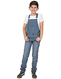 Wash Clothing Company Peto Niños - Lightwash Overalls Dungarees Años 4 6 8 10 12 14 KID047LIGHT