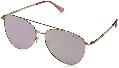 Pepe Jeans Unisex-Erwachsene Neo Sonnenbrille, Rose Gold/Pink, 59.0