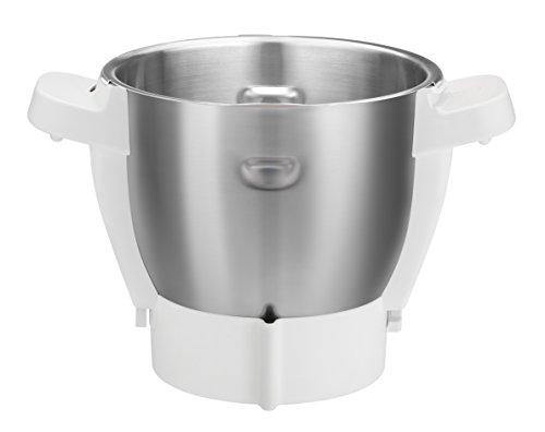 Moulinex XF380E - Bol de acero inoxidable para el robot de cocina Companion, capacidad 4.5 L, con...