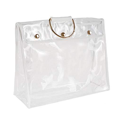 Bongles Klar Staubdichte Tasche Transparent Staubbeutel-Organisator-Geldbeutel-Handtaschen-Schutz Mit Magnetverschluss -