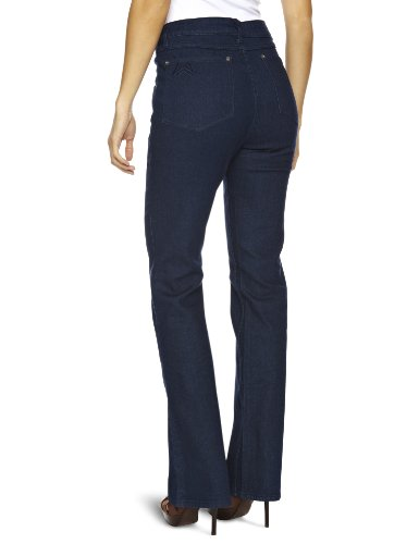 Wizard Jeans - Jeans - Bootcut Femme Bleu