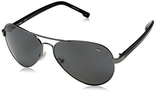 Lacoste Herren L163SP 033 62 Sonnenbrille, Grau (Gunmetal), - Gunmetal Bekleidung