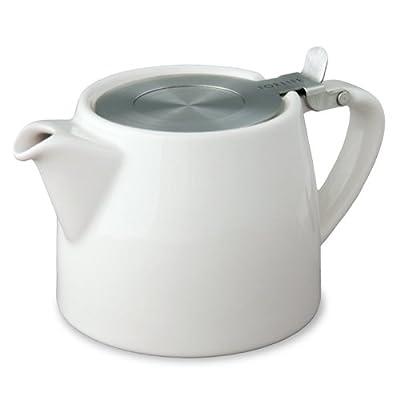 Théière passe thé STUMP 40 cl - Blanc