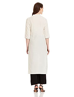 W for Woman Straight Kurta
