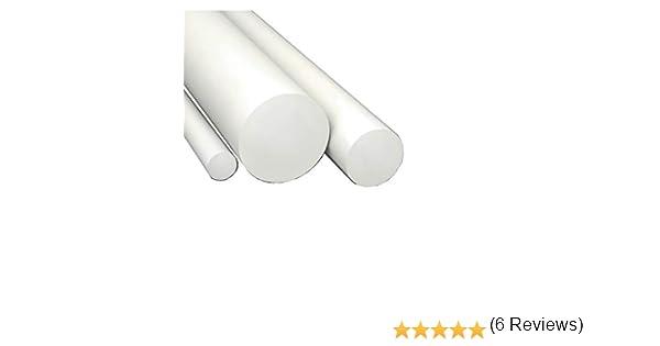 D20x1000 mm diametroxlunghezza Barra tonda in PVC bianco disponibili Varie diametri e lunghezze