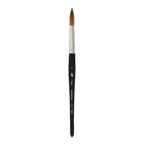 Princeton Elite NextGen Artist Brush, Series 4850 Synthetic Kolinsky Sable for Watercolor, Round, Size 12