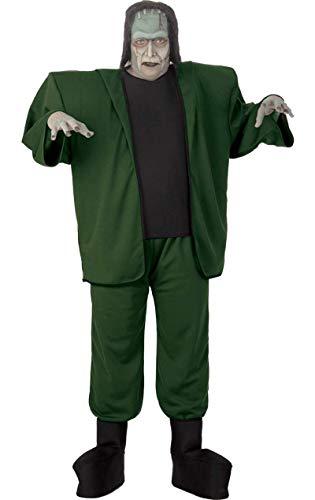 Frankenstein Monster Kostüm für Erwachsene - Für Erwachsene Übergröße Kostüm