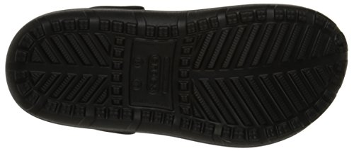 Crocs Hilo Lined U, Sabots Mixte Adulte Anthracite / Noir