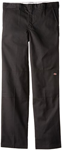 Dickies - - QP200 Jungen Flexwaist Double Knee Multi-Use-Pocket Pant, 16, Black - Dickies Multi-use Pocket