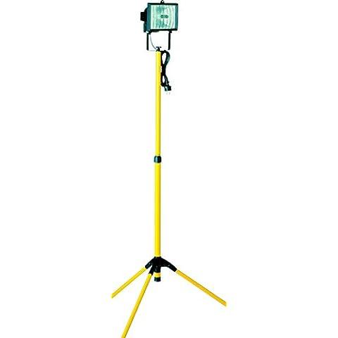 Elro TL400 - Lámpara halógena con trípode
