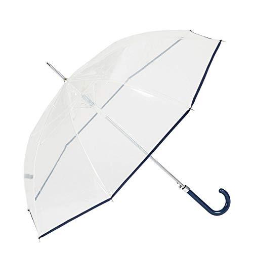 GOTTA Paraguas Transparente Largo Mujer. Antiviento