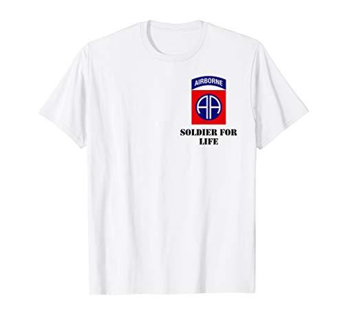 82nd Airborne Shirt - Schwarz