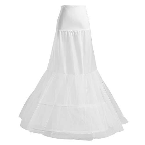 Vintage Meerjungfrau Fischschwanz Krinoline Petticoat Rock Slip - Länge Netz Unterrock Brautkleid...