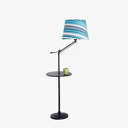LDD-XL Lampadaire Nordic Post Lampadaire Moderne en Fer Lampe sur Pied de Mode Salon Étude de Salon Lampe Verticale Chambre Lampe de Table Verticale