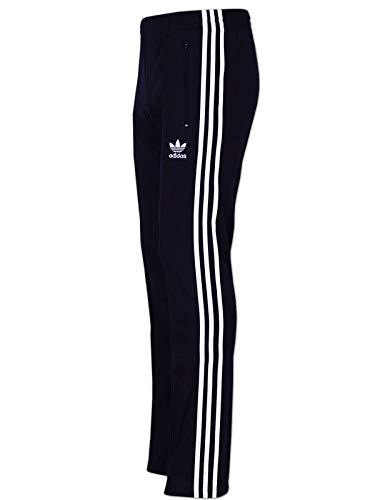 adidas Originals Hose Europa Track Pant Retro Trainingshose (black, M) -