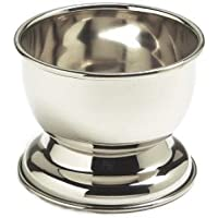 SimplyBeautiful Deluxe Chrome Shaving Bowl for Shaving Soap by SimplyBeautiful