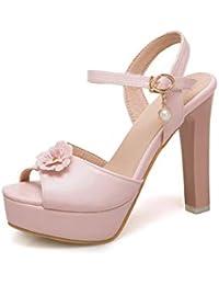 Con Donna Sandali Amazon Refresh Rosa shoes 69724 Plateau F15Kul3TJc