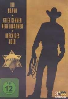 Bild von John Wayne Collection : Rio Bravo - Geier kennen kein Erbarmen - Dreckiges Gold - 3DVD Box