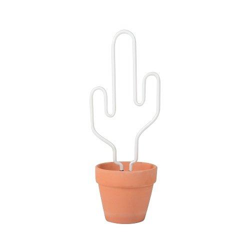 Doiy Neon Cactus lampe en verre, Multicolore