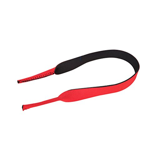 VORCOOL Schwimmen Goggle Swim Glasses Brillen Halter Strap Sonnenbrille Retainer Lanyard Cord (rot)