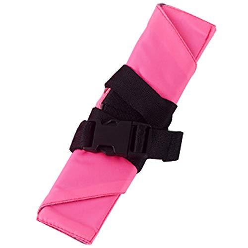 Tianzhiyi Massage-Tool ßstütze für Flugzeug, tragbar, verstellbare Höhe und Hängematte an den Beinen Bietet Entspannung und Komfort Multifunktional für das Flughafenbüro - Verstellbare Bürste