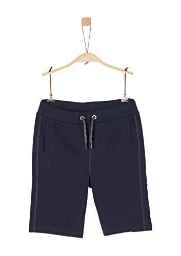 s.Oliver Junior Jungen 75.899.75.1002 Shorts, Blau (Dark Blue 5958), 164 (Herstellergröße: L/REG)