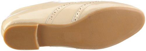 Buffalo London Halbschuhe Soft Patent Lea Beige/Beige 01