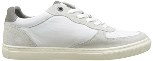 Levis Perris Oxford, Baskets Homme Blanc (Noir Regular White)