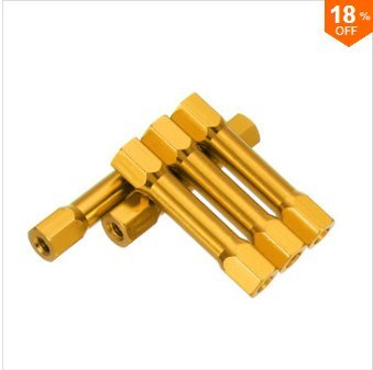 EsportsMJJ M3Ar9 10St M3 30Mm Hex Abstandshalter Sechskantbolzen Aluminiumlegierung Multicolor Für Pcb - Gold - Gold