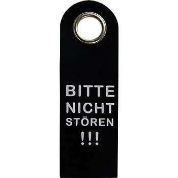 GKA Filzschild Türschild Filz Türhänger schwarz Frei Besetzt beidseitig