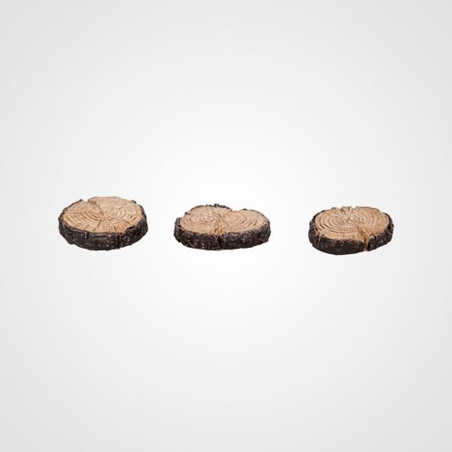 miniature-world-log-stepping-stones-ornaments-brown-pack-of-3