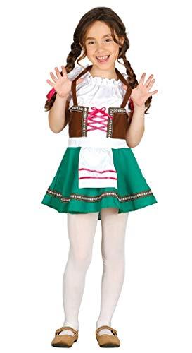 FIESTAS GUIRCA Traje de la Chica de la Fiesta de la Cerveza de la Criada bávara del Tirol.