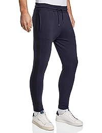 oodji Ultra Uomo Pantaloni in Cotone con Bande Laterali