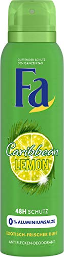 Fa Caribbean Lemon Deospray, 6er Pack (6 x 150 ml)