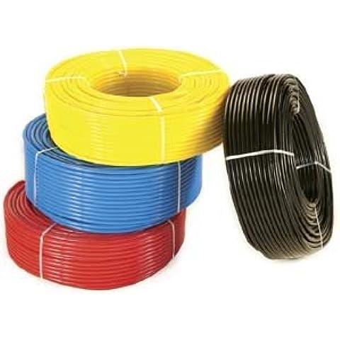 ntm08/060R 8mm x 6mm rojo Métricas Flexible Tubo de Nylon 30m