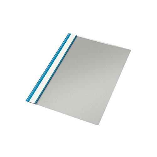 Elba 100550189 - Bolsa de 20 dossiers fásteners de plástico flexible, color azul