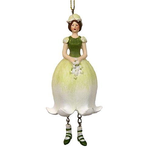 Maiglöckchen Elfen-Feefigur zum Hängen Flower Fairy Figur Dekofigur Skulptur - Rosemarie Schulz Heidelberg