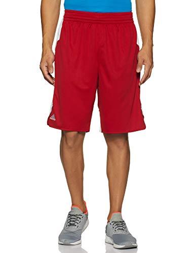 adidas Herren Crazy Explosive Shorts, PowredWhite, Gr. M