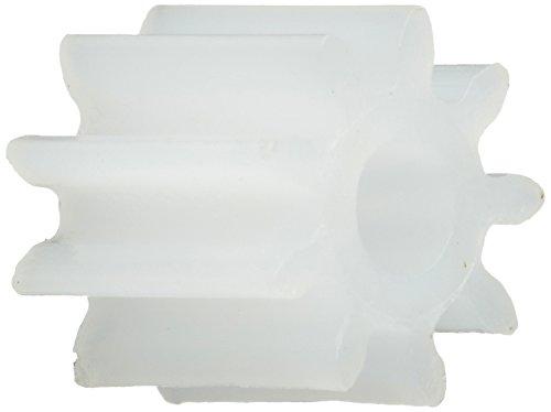 Sourcingmap a14031300ux0108-50 pc 0.5 módulo 9-diente engranaje engranajes de plástico para eje motor del juguete del rc 2mm
